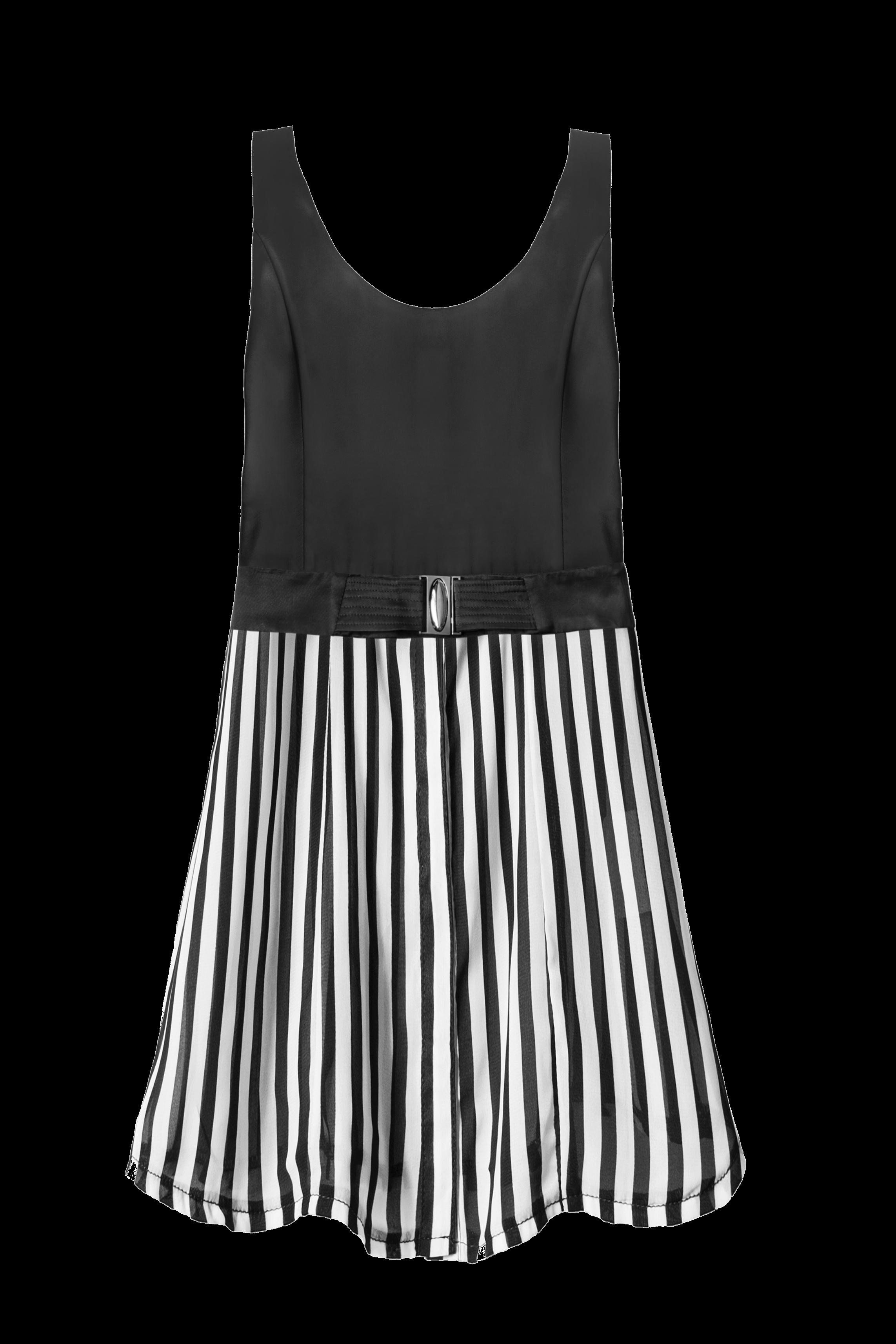 weiß-schwarz-gestreiftes-kleid